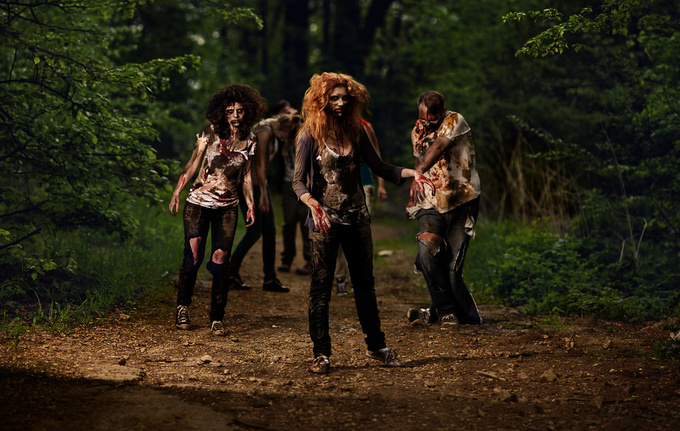 The Walking Dead - Żywe Trupy cosplay