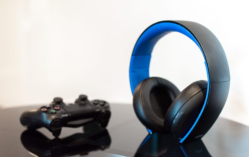 Playstation Gold Stereo 2.0 Headset